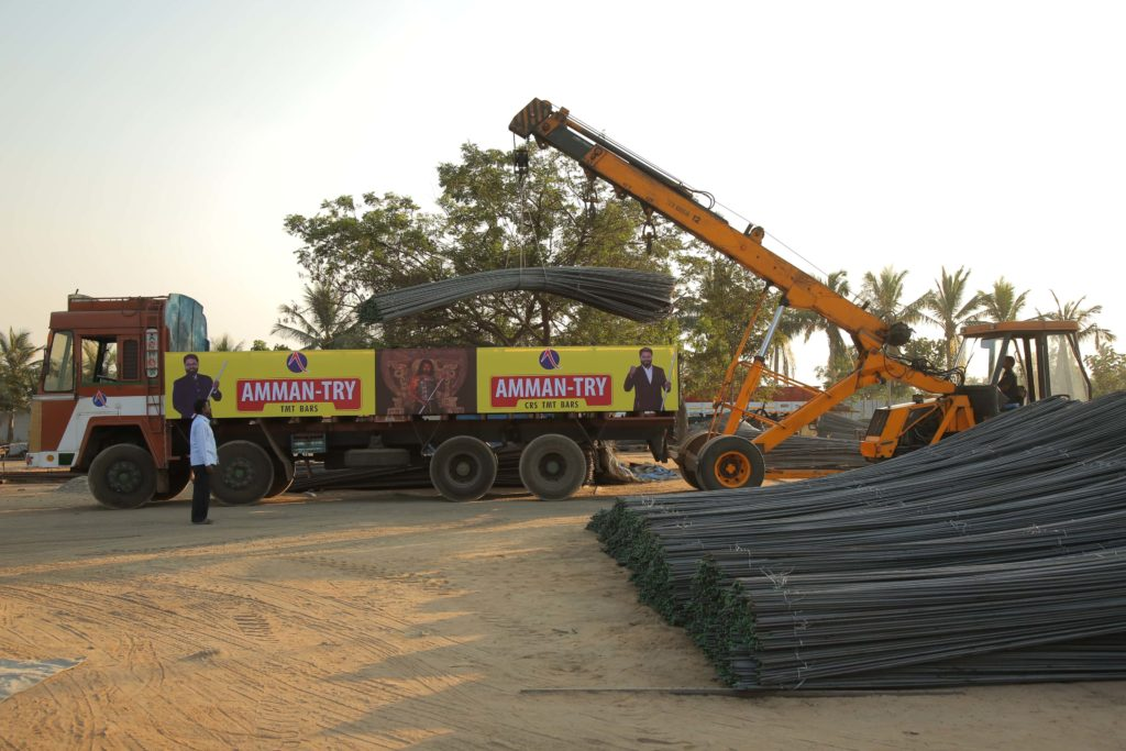 TMT bars are one of the important materials for construction