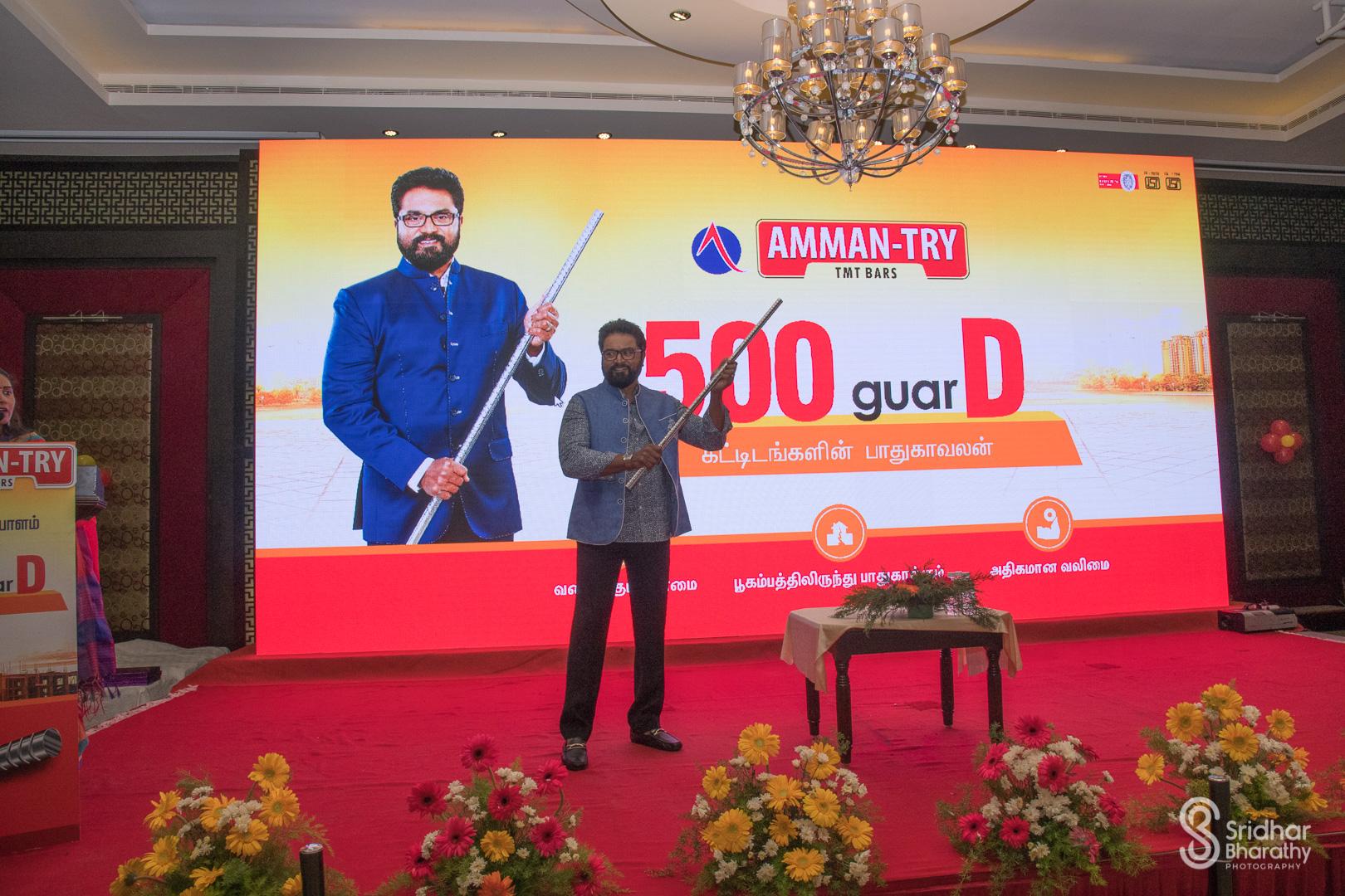 500 guarD TMT Bars Launch at Pondicherry