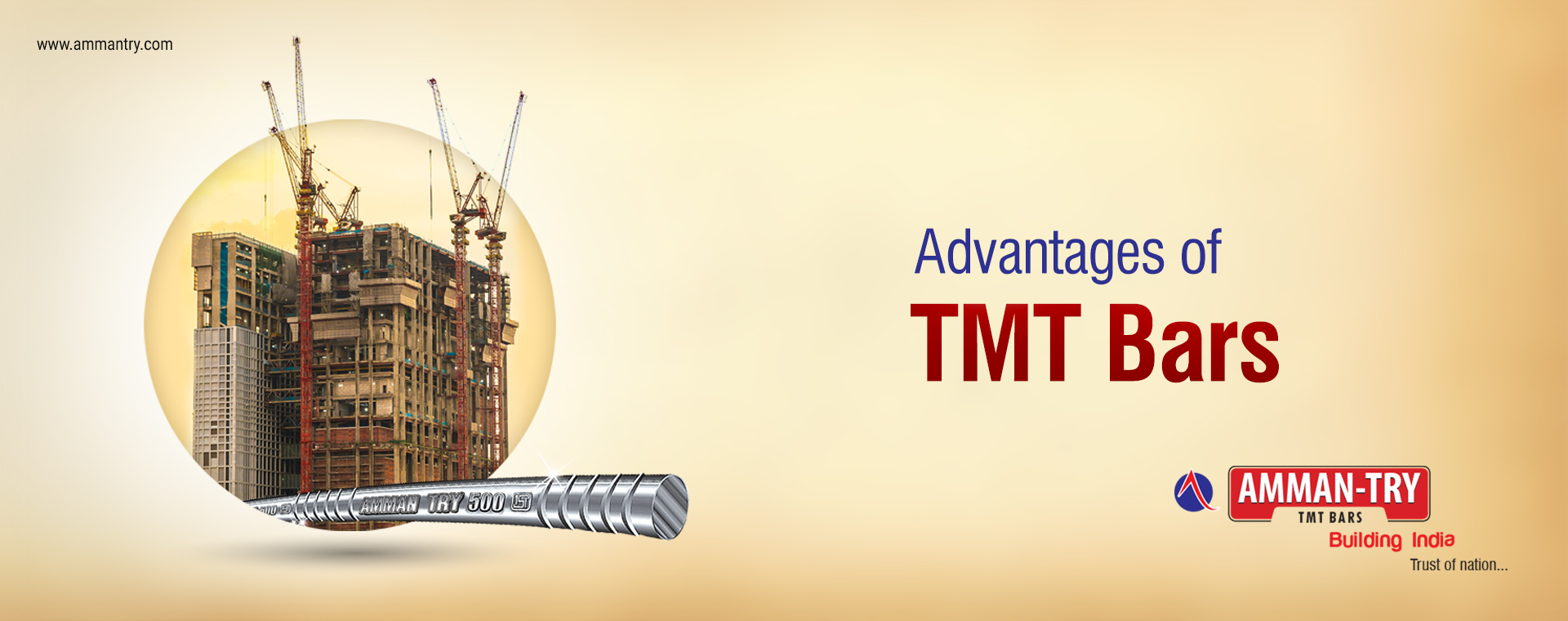 Advantages of TMT Bars