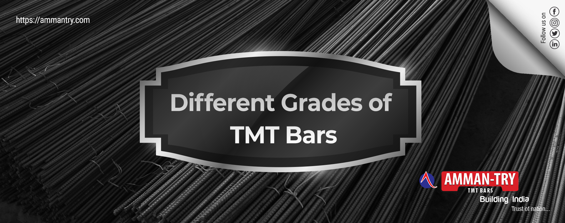 Different Grades of TMT Bars