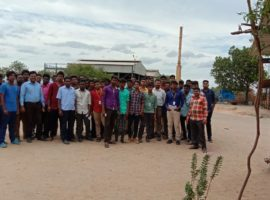 Mailam-engineering-college-steel-factory-visit